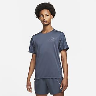 Nike Dri-FIT Rise 365 Run Division Haut de running à manches courtes pour Homme