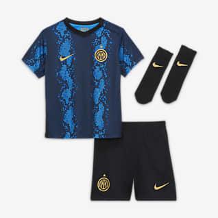 Inter Milan2021/22 Domicile Tenue de football pour Bébé et Petit enfant