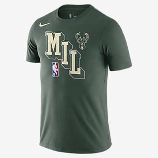 密尔沃基雄鹿队 Nike Dri-FIT NBA 男子T恤