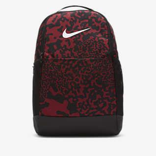 Nike Brasilia Mochila de entrenamiento estampada (mediana)