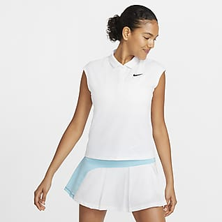 NikeCourt Victory Tennispikétröja för kvinnor