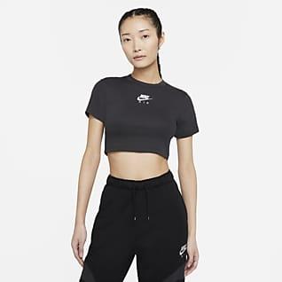 Nike Air เสื้อเอวลอยแขนสั้นผู้หญิง