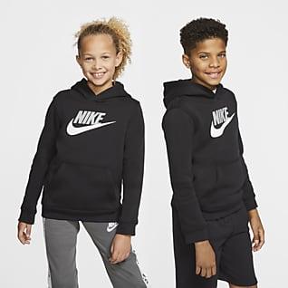 Nike Sportswear Club Fleece Felpa pullover con cappuccio - Ragazzi