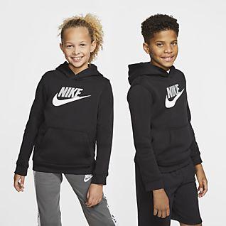 Nike Club Hoodie Full Zip, collegejakke herre Grå Fritid
