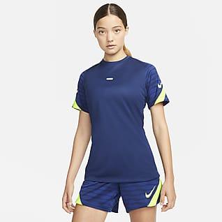 Nike Dri-FIT Strike Samarreta de màniga curta de futbol - Dona
