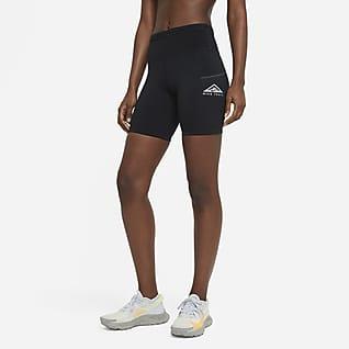 Nike Epic Luxe Terrengløpeshorts til dame