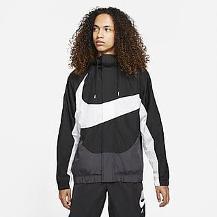 Nike Sportswear Swoosh Gewebte Herrenjacke mit Futter
