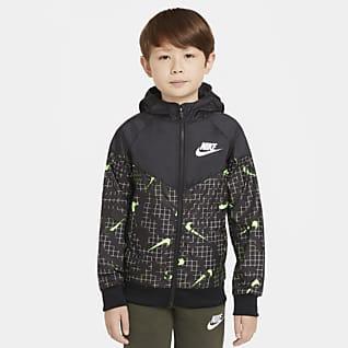 Nike Sportswear Windrunner Bunda pro větší děti (chlapce)
