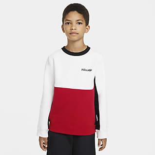 Nike Air Langærmet crewtrøje til store børn (drenge)