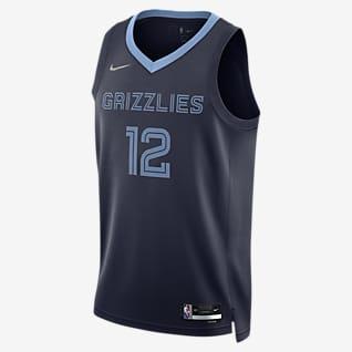 Memphis Grizzlies Diamond Icon Edition Nike Dri-FIT NBA Swingman Jersey