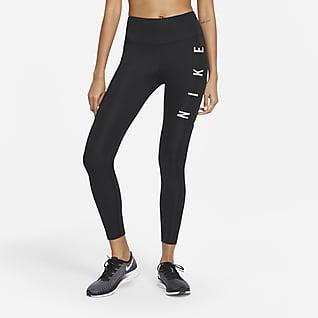 Nike Epic Fast Run Division Lauf-Leggings mit halbhohem Bund für Damen