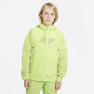 Nike Sportswear Windrunner Zero Older Kids' Hooded Jacket