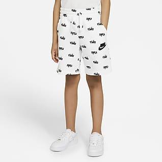 Nike Sportswear Shorts estampados de tejido Fleece para niño talla grande