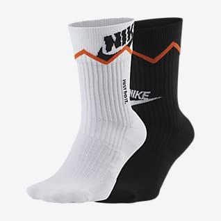 Nike SNEAKR Sox Crew-Socken (2 Paar)