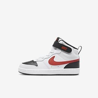 Nike Court Borough Mid 2 Little Kids' Shoes