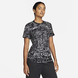 Club América Camiseta de fútbol para antes del partido para mujer Nike Dri-FIT