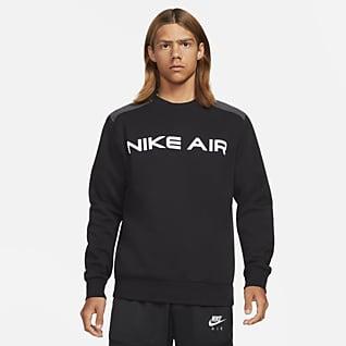 Nike Air Fleecetop met ronde hals voor heren