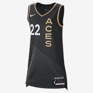 A'ja Wilson Aces Rebel Edition Nike Dri-FIT WNBA Victory Trikot