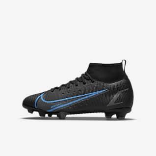 Nike Jr. Mercurial Superfly 8 Pro FG Calzado de fútbol para terreno firme para niños talla pequeña/grande