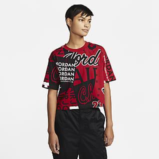 Jordan-stil T-skjorte til dame