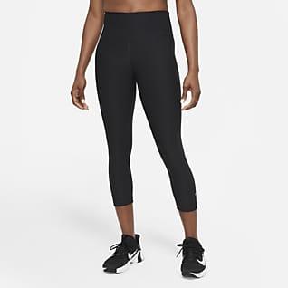 Nike Sculpt Women's High-Waisted Cropped Training Leggings