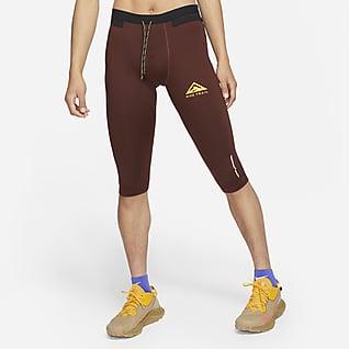 Nike Dri-FIT Tights da trail running a 3/4 - Uomo
