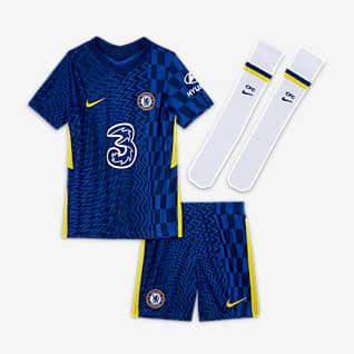 Домашняя форма ФК «Челси» 2021/22 Футбольный комплект для дошкольников