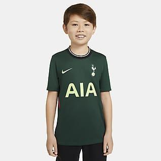 Equipamento alternativo Stadium Tottenham Hotspur 2020/21 Camisola de futebol Júnior