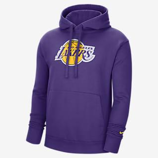 Los Angeles Lakers Essential Nike NBA-s belebújós, kapucnis férfipulóver