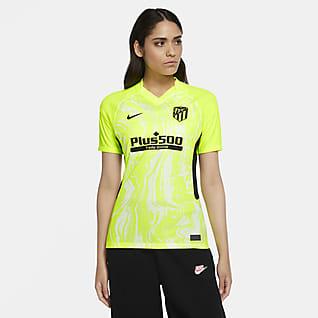 Atlético de Madrid 2020/21 Stadium Derde Voetbalshirt voor dames
