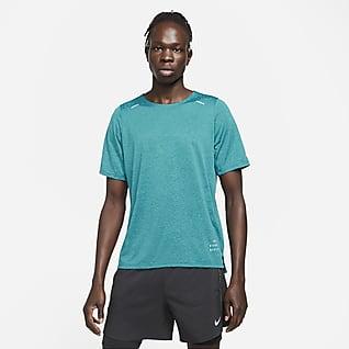 Nike Rise 365 Run Division Playera de running de manga corta para hombre