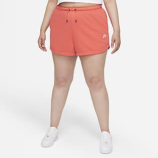 Nike Sportswear Γυναικείο σορτς (μεγάλα μεγέθη)