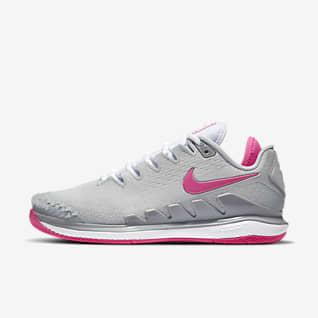 NikeCourt Air Zoom Vapor X Knit Calzado de tenis de cancha dura para mujer