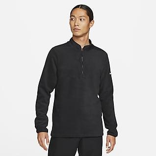 Nike Therma-FIT Victory Yarım Fermuarlı Erkek Golf Üstü