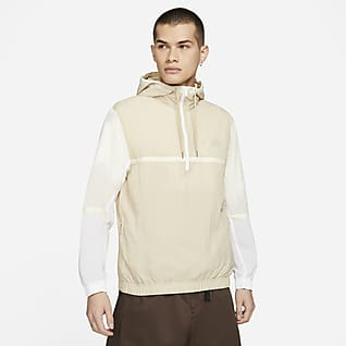 Nike Sportswear Casaco entrançado sem forro com capuz para homem