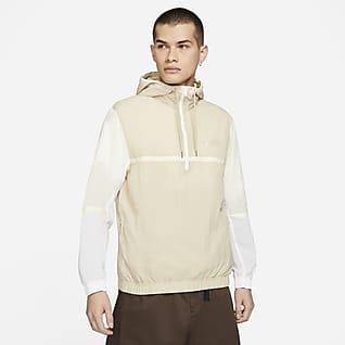 Nike Sportswear Giacca con cappuccio in tessuto non foderata - Uomo
