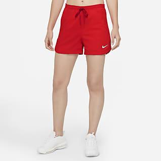 Nike F.C. Dri-FIT Vevd fotballshorts til dame