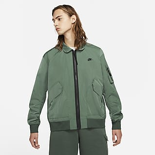 Nike Sportswear Premium Essentials Chamarra bomber sin forro para hombre