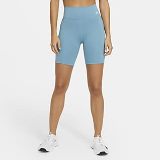 "Nike One Women's Mid-Rise 7"" Shorts"