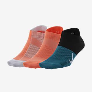 Nike Everyday Plus Lightweight Calcetines de entrenamiento invisibles (3 pares)