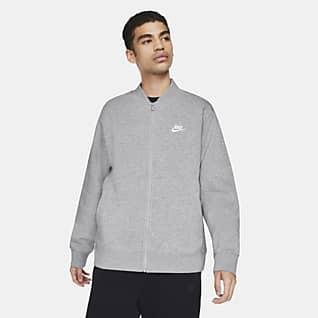 Nike Sportswear Club Fleece Ανδρικό bomber τζάκετ