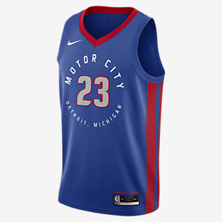 Detroit Pistons City Edition Nike NBA Swingman Jersey