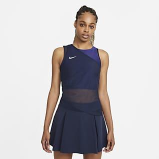 NikeCourt Dri-FIT ADV Slam Camisola de ténis sem mangas para mulher