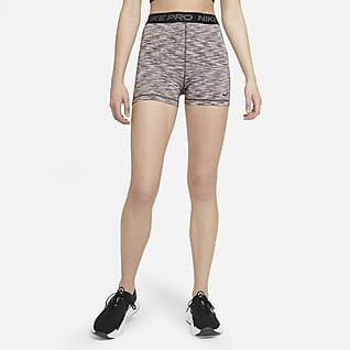 Nike Pro Calções de 8cm Space-Dye para mulher
