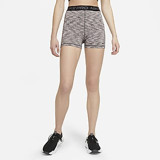 "Nike Pro Women's 3"" Space-Dye Shorts"