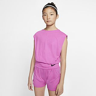 Nike Big Kids' (Girls') Reversible Training Top