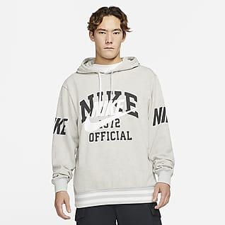 Nike Sportswear 男子法式毛圈套头连帽衫