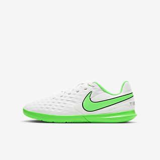 Nike Jr. Tiempo Legend 8 Club IC Fotbollssko för inomhusplan/futsal/street för barn/ungdom