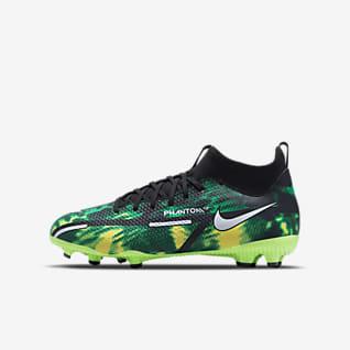 Nike Jr. Phantom GT2 Academy Dynamic Fit MG Botes de futbol per a terrenys diversos - Nen/a i nen/a petit/a