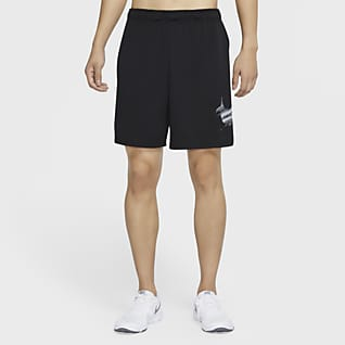 Nike Dri-FIT กางเกงเทรนนิ่งขาสั้นผู้ชายมีกราฟิก